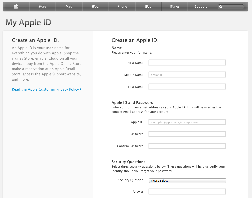 how to create an apple id on a pc or mac long range systems llc