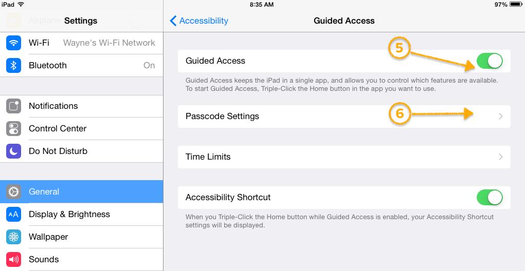 Kiosk Mode (Guided Access) – Long Range Systems, LLC